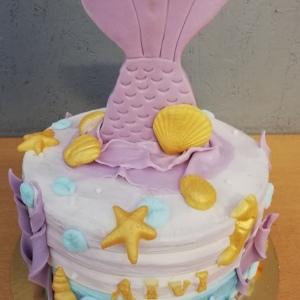 Kindergeburtstagstorte Meerjungfrau