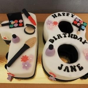 Zahl Geburtstagstorte