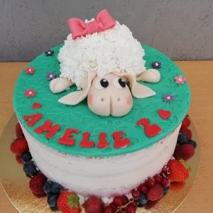 Naked Cake zum Kindergeburtstag