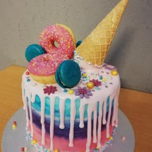 Candy Geburtstagstorte