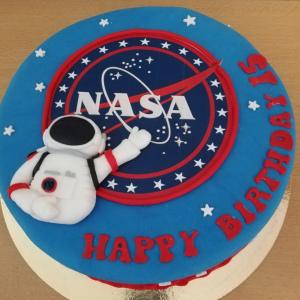 NASA Geburtstagstorte