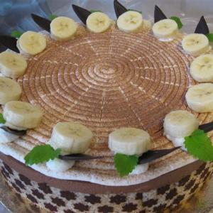 Schoko Bananen Sahne