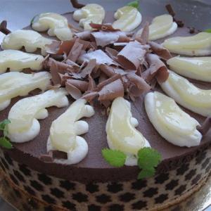 Schokoladen Birnen Sahne