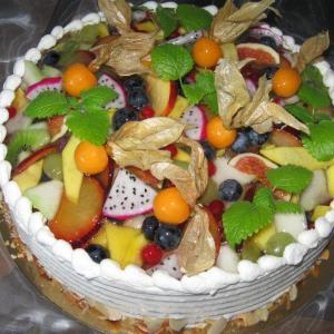 Joghurt gemischte Früchte