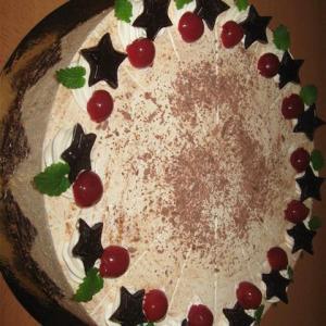 Zimt Sauerkirsch Torte